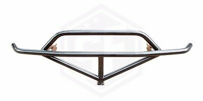 Street Faction Front Bash Bar w/ Upper Support/Jacking Point for 89-94 240sx