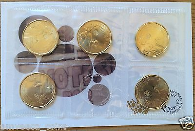 CANADA 2016 100th Anniversary WOMEN'S RIGHT TO VOTE Loonie $1 5-Pack Coin SEALED