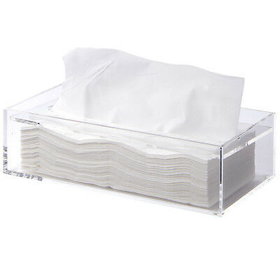 MUJI Tissue Box Case / Holder - Transparent / Clear - from Muji - From Japan