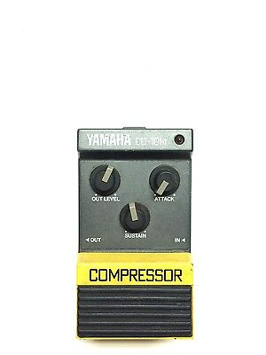 Yamaha CO-10M, Compressor, Guitar Effect Pedal, Made In Japan, 80's