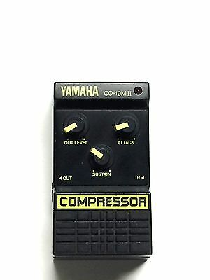 Yamaha CO-10M II, Compressor, Guitar Effect Pedal, Made In Japan, 80's