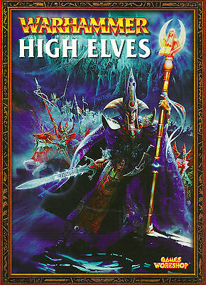 """warhammer Armies: High Elves"" 2003 1St/3Nd Pb Ed Nf- Many Color  Illustrations"