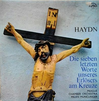 Haydn Prague Chamber Orchestra  The Seven Last Words Vinyl LP Classical music