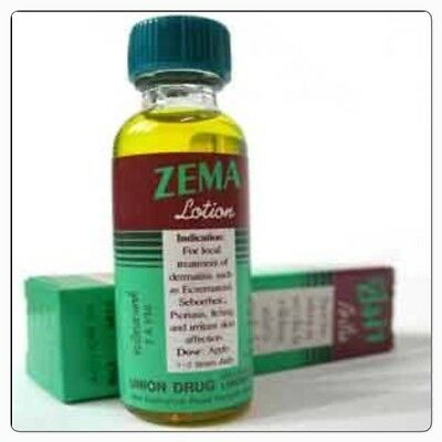 ZEMA LOTION For Dermatitis Eczema Tied Psoriasis Eczema Itching Skin Treatment