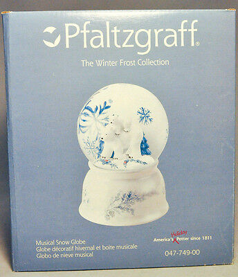 Pfaltzgraff: Winter Frost Collection Musical Snow Globe - 047-749-00
