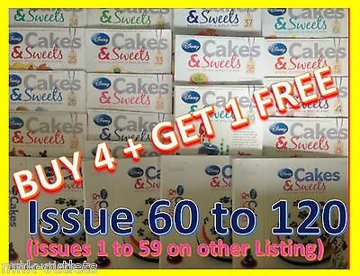 Disney Cakes And Sweets Decorating Collection magazine : ISSUES 60 TO 120 !