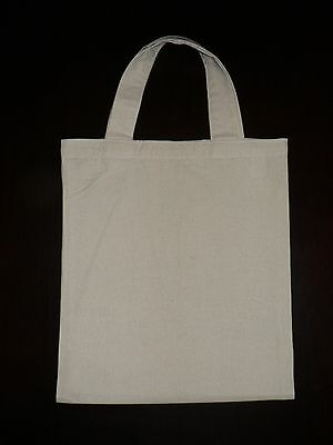 Calico bags with handle  bulk 1, 5 , 10 , 15 ,25, 50 ,100  ( H 32 x W 27)cm