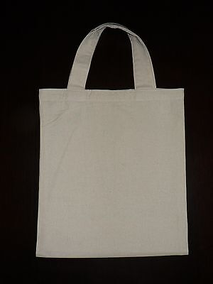 Calico bags with handle ( bulk)  5 , 10 , 15 ,25,50 ,100 ,1