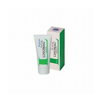 Linomag ointment 20% eczema, sores, psoriasis / anhydrous lanolin 3x30g = 90g