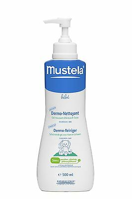 Mustela Bebe Dermo-cleansing Soap-free gel Hair and Body Wash 500ml