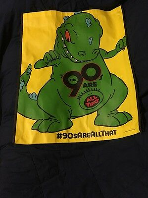 SDCC Comic Con 2014 EXCLUSIVE Rugrats REPTAR The 90's Are All That Promo Bag Xxl