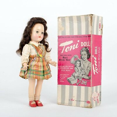 Ideal Toni Brunette Doll with Box