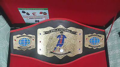World Football Fantacy championship belt For Adult with bag