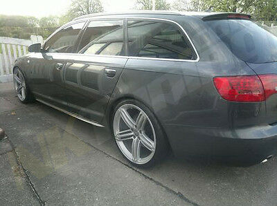 Audi A6 C6 (+2004) - Side skirts bars S-line look
