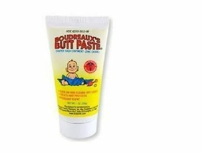 *** Boudreaux's Butt Paste 1 oz Tube Diaper Rash Ointment Cream Buttpaste