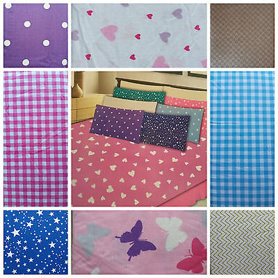 ❤❤️ FITTED PRINTED SHEETS ❤❤ Printed Design Colour SINGLE Fitted Bed sheet Linen