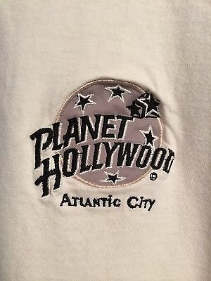 Planet Hollywood Atlantic City T Shirt White Large