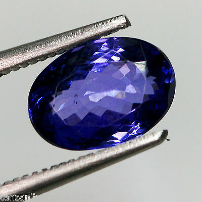 2,77 cts, TANZANITE NATURELLE AAA COLOR, CERTIFICAT  (pierres précieuses/ fines)