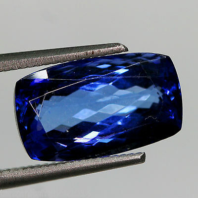 5,24 cts, TANZANITE CERTIFIEE NATURELLE AAA COLOR  (pierres précieuses/ fines)