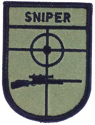 PATCH ECUSSON BRODE SNIPER AIRSOFT US MARINES ARMY Thermocollant
