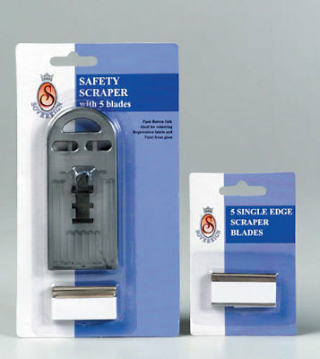 Sovereign Blade Scraper Safety Single Edge 5 Pack