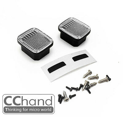 CC HAND Tail light group for 1/10 Tamiya CC01  Wrangler WITHOUT COLOR 2PCS