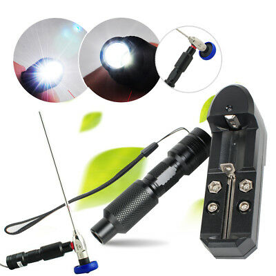 Portable10W Handheld LED Cold Light Source Connector Fit STORZ WOLF ENDOSCOPE