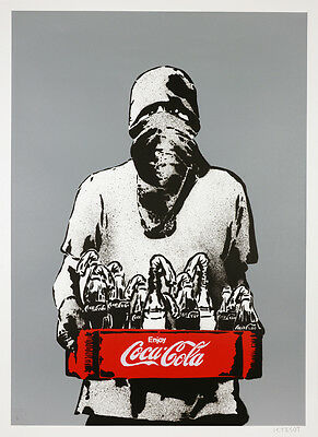 ICY AND SOT - Molotov (grey main) - Screen print | Urban, street art, graffiti