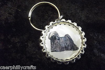 Hungarian Puli Keyring by Curiosity Crafts