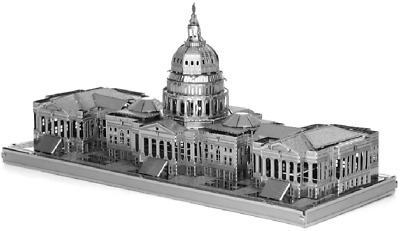 Fascinations Metal Earth US Capitol Building ICONX Laser Cut 3D Model