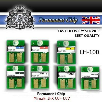 Lh 100 Best Permanent Chip Cmyk White Primer Cleaner Mimaki  Jfx Ujf Ujv