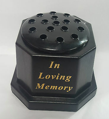 In Loving Memory Grave Or Memorial Flower Vase