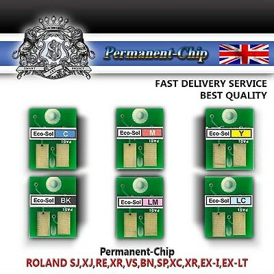 Roland® Eco Max Permanent Chip Sj, Xj, Re, Xr, Vs, Bn, Sp, Xc, Xr, Ex-I, Ex-Lt