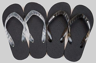 caf696542b6 Locals Flip Flops Slippers Black Clear Hawaii Rubber Men s Women s Free  Shipping