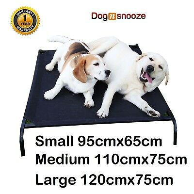 New Pet Dog Bed Trampoline Hammock Cat Puppy Heavy Duty Frame Free Extra Mat
