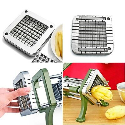 French Fry Potato Peeler Parer Julienne Cutter Slicer Stainless Steel Blade Tool