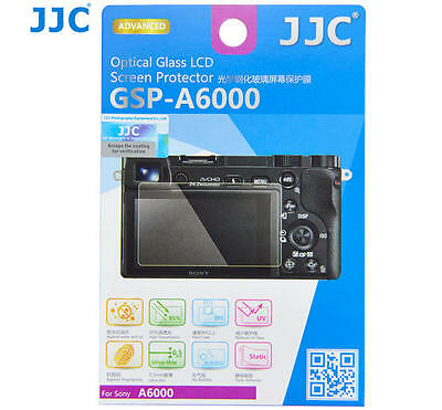 JJC Screen protector for Sony A6000 Alpha 6000 Ultra-thin Optical Glass Adhesion