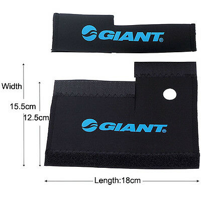 2x Cycling Bike Bicycle Front Fork Protector Pad Wrap Cover Set Stick Tape Good