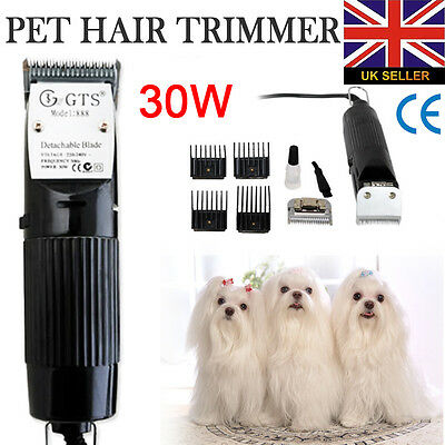 30W Animal Pet Dog Cat Grooming Clippers Shaver Kits Fur Hair Trimmer Cut Tool