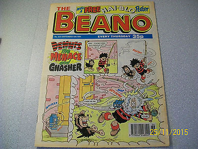THE BEANO COMIC No. 2721 SEPTEMBER 10TH 1994 D.C.THOMSON & CO