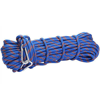 3Kn 10Mm Outdoor Mountain Rock Tree Climbing Rappel Rescue Nylon Auxiliary Rope