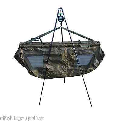 Q-Dos Carp Fishing Weigh Tripod With Adjustable Legs