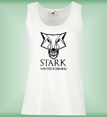 Mujer Chaleco Slim - Game Of Thrones Inspired Stark - Awesome Ladies Summer Vest
