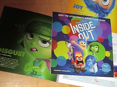 Pete Docter INSIDE OUT Amy Poehler/Mindy Kaling DISNEY/PIXAR Press kit CANNES