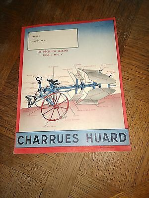 Cl N° 1 Protege Cahier Charrues Huard Chateaubriant 44