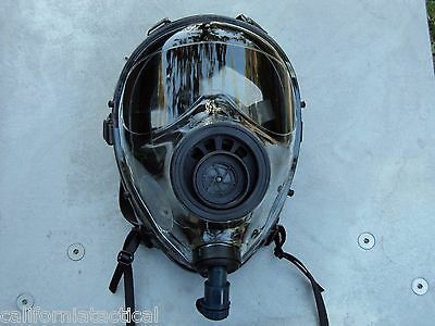 SGE 400 40mm NATO Gas Mask w/Drinking System & NBC/CBRN Filter, exp 12/2022 NEW