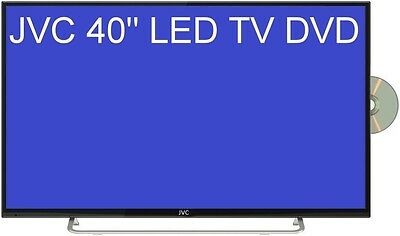 """Jvc 40"""" (102Cm ) Fhd Led Tv Built In Dvd Combo Pvr Function Recording Lt-40Nd56A"""