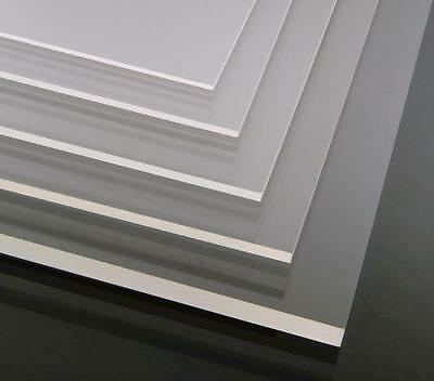 Clear Acrylic Perspex Panels A5, A4, A3 Various Qty's 2,3,4,5,6 & 10Mm Thick