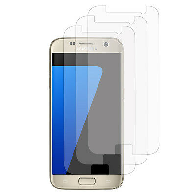 Accessoires Lot Pack Films Protection Pour Samsung Galaxy S7 G930F