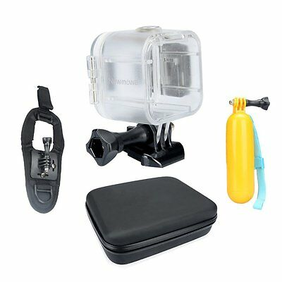 Newmowa Waterproof Case Accessory Kit for Polaroid Cube and Cube+ Action Camera
